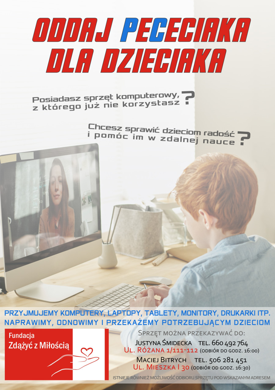 Oddaj PeCeciaka - Facebook i WWW